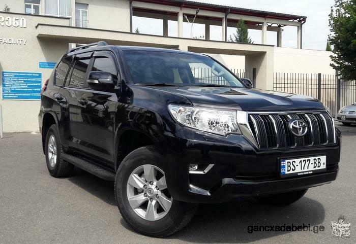Сar rental, Toyota Land Cruiser Prado 2018