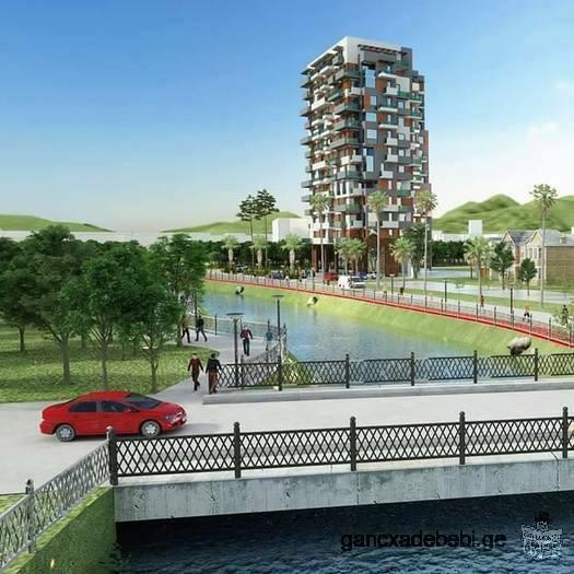 Apartment for sale! Location : Grigol Lortkifanidze street #6, Batumi . First line of the sea