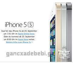 Apple iPhone 5ს 64GB ( noir et blanc)