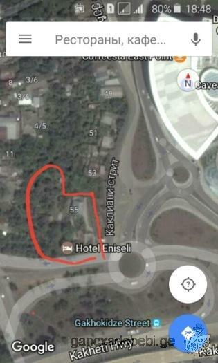 For a hotel at the airport highway at the entrance to the carfur. I am the owner of 1500 square mete