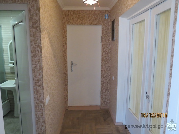 For rent 3 rooms flat Just in front of Vaja Pshavela metro station
