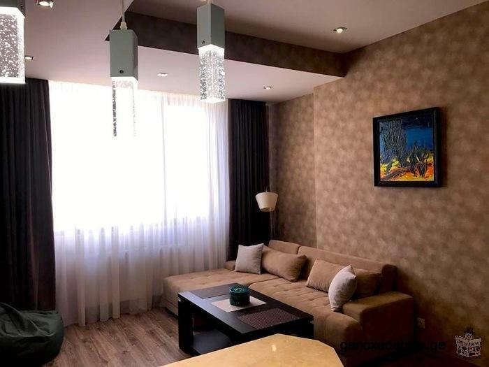 For rent fully furnished modern apartment with 2 bedrooms in Saburtalo district!