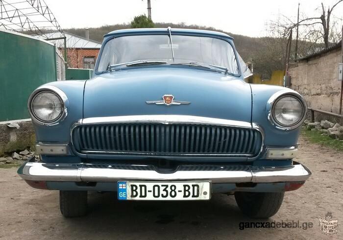 For sale antique car Volga GAZ M21