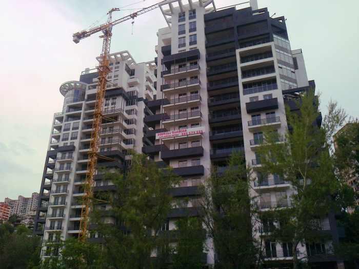 "For sale apartment in a new residential complex ""Geo Belgium Plus"""