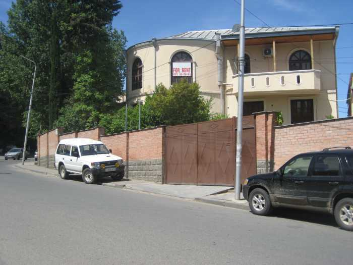 For the three-storey house, Ortachala, the Swiss Embassy. Office or residence