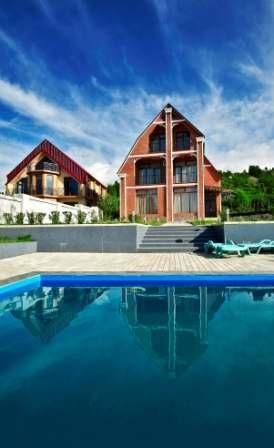 Luxurious house for rent in Batumi (Akhalsopeli)