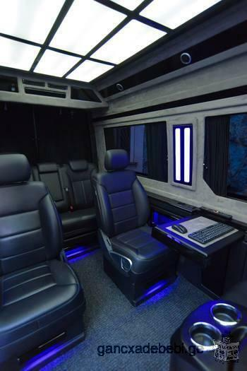 Mercedes - Benz LUXURY SPRINTER, First Class Automobile for Rent