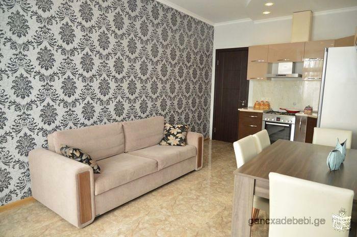 Newly finished apartment for monthly rent in the center of Batumi, Takaishvili street 3!