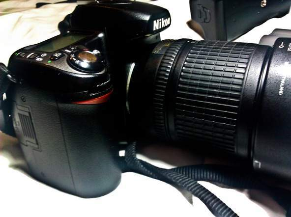 Nikon d80, 18-135mm