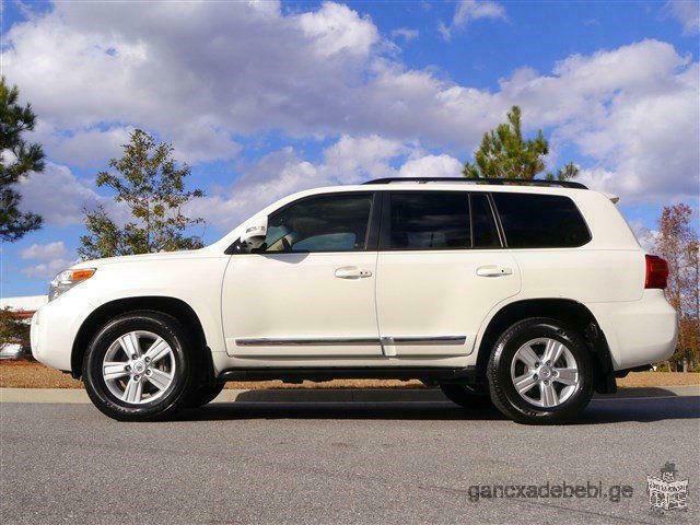 Selling my 2013 Toyota Land Cruiser V8