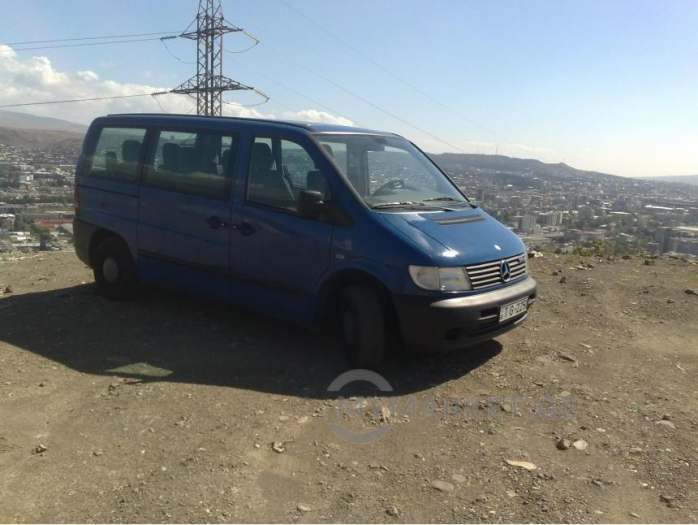 Service by minivan Mercedes- Vito