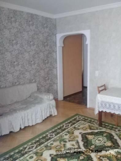 The flat is located near to the Varketili metro station.