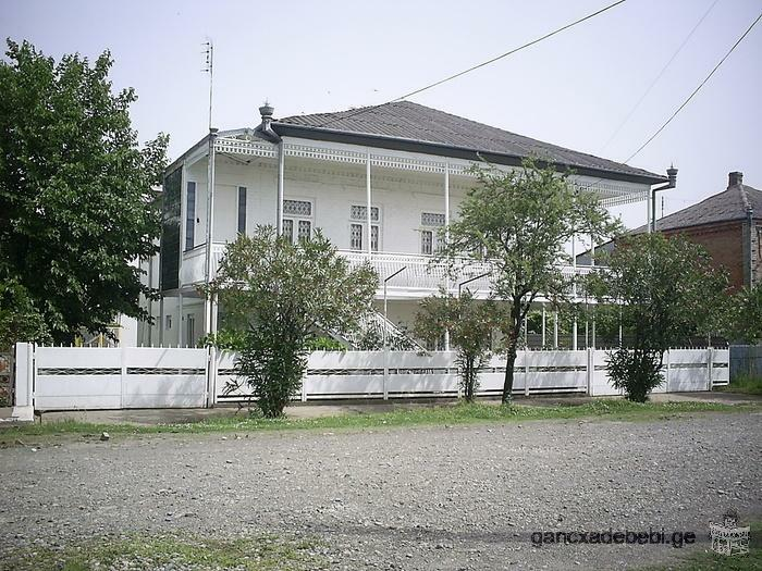 We are selling a house in Poti. The house is placed by the sea.
