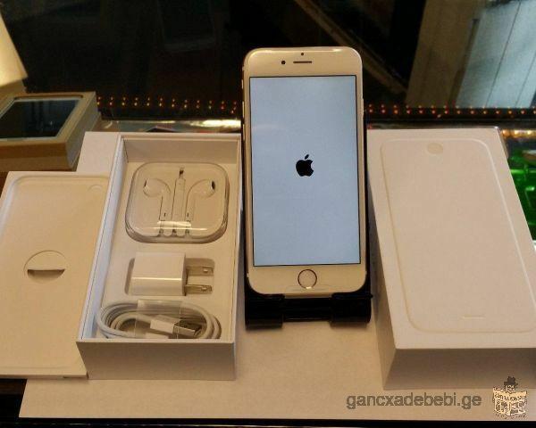 Apple iphone 6 flambant neuf et 100% authentique dans une boîte avec tous les accessoires complets-D