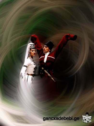 Enseigner les danses géorgiennes nationales