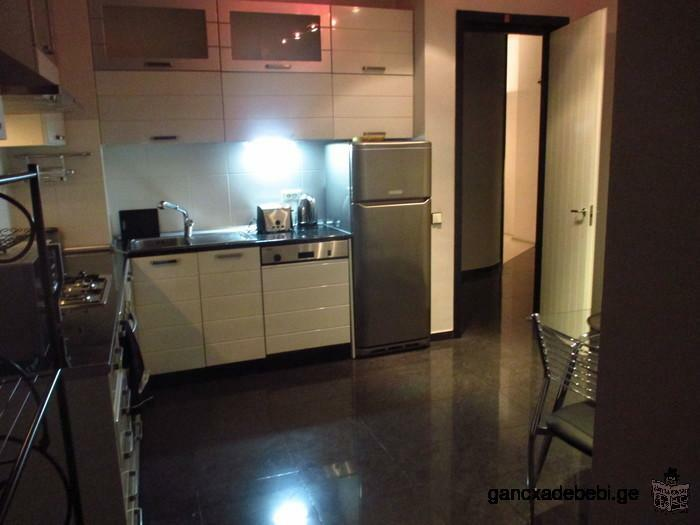 Moderne de deux chambres Appartement à louer - rue Mtskheta dans la zone Vake de Tbilissi