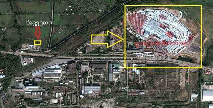Terrain de l'emplacement stratégique