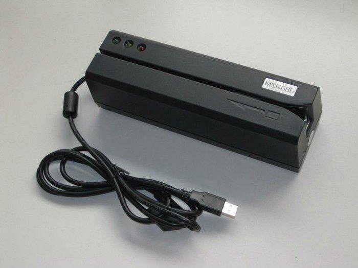 Энкодер магнитных карт MSR606 (MSR206 / MSR605)