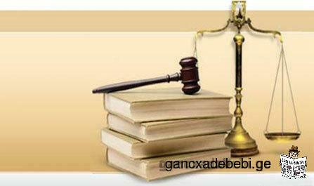 ადვოკატი/იურიდიული მომსახურება