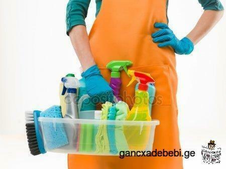 ბინების და ოფისების დალაგება-დასუფთავება (აჭარა)