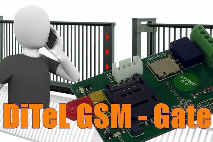გაყიდვა კარის GSM დისტანციური მართვის მოდული DITEL - GSM Gate.