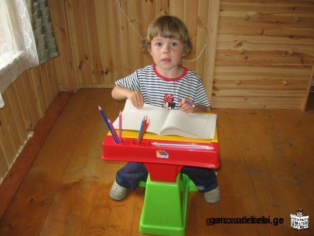 ვასწავლი პატარა 3-5 წლამდე მოწაფეებს სხვადასხვა სასწავლო თამაშებს