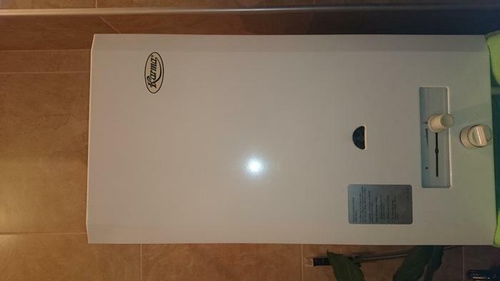 იყიდება მეორადი წყლის გამაცხელებელი-karma და ოთახის გამათბობელი 31 ქარხნის გამოშვება
