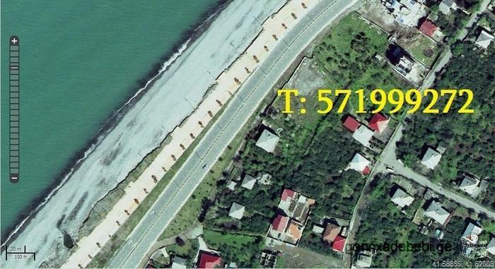 იყიდება მიწის ნაკვეთი ზღვის პირზე, ხიმშიაშვილის ქუჩაზე, 1350კვ. და 1250კვ.