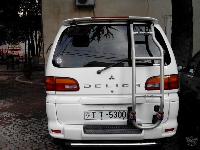 მიკროაავტობუსის დაქირავება.Mitsubishi delica 4X4