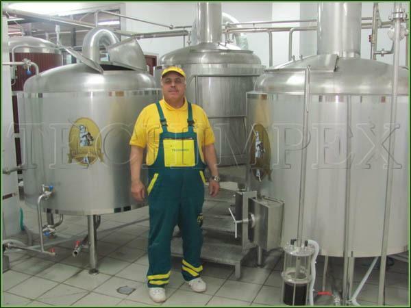 მინი ლუდსახარში - Brewery Blonder ლუდის კომპანია Techimpex.