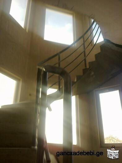 რკინა-ბეტონის კიბეები ხარისხიანად
