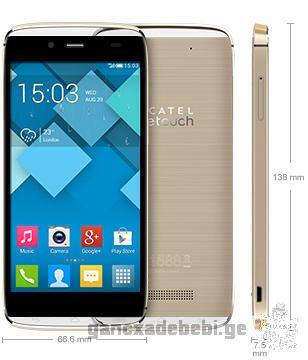 სასწრაფოდ იყიდება Alcatel One Touch Idol Alpha 6032X