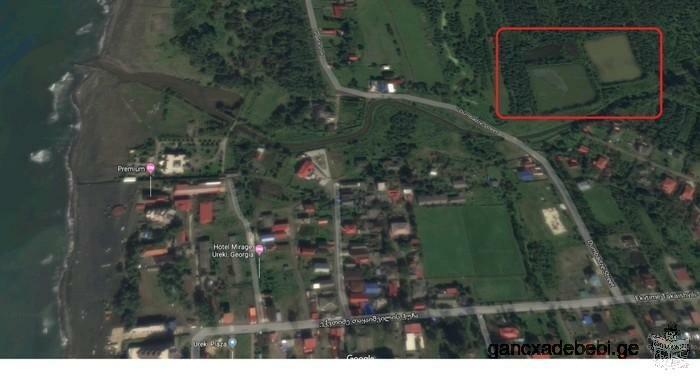 ურეკში იყიდება კომერციული მიწის ნაკვეთი