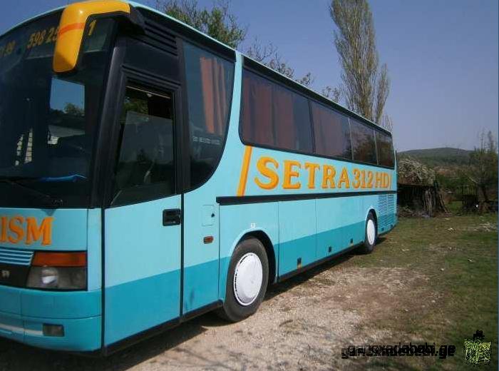 ქირავდება ავტობუსი სეტრა 42 ადგილიანი