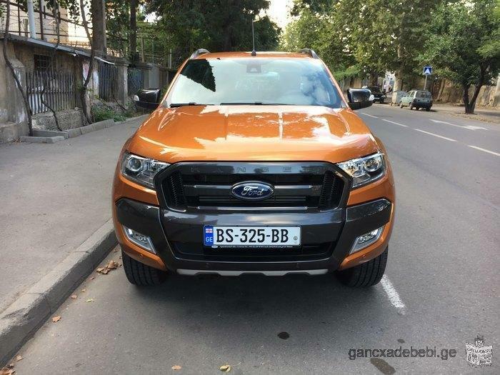 ქირავდება მანქანა დღიურად! Ford Ranger (2018წ)