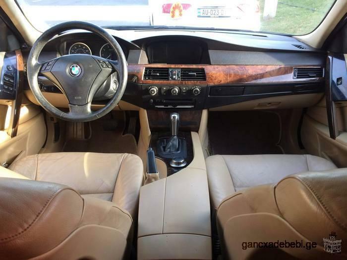 ქირავდება ! For rent ! Для аренды ! BMW e60 M 2006 / AUDI A6 SPORT 2006 4X4