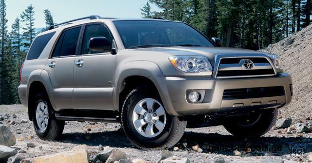 ქირავდება Toyota 4Runner