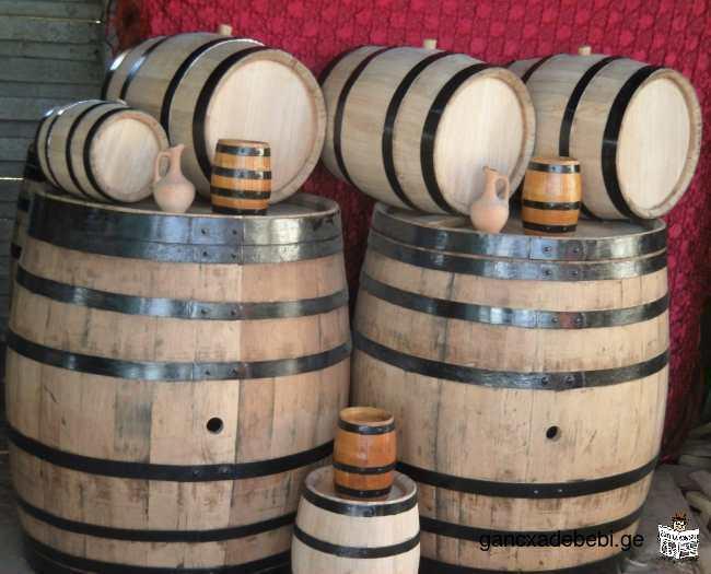 ღვინის ბოჩკები