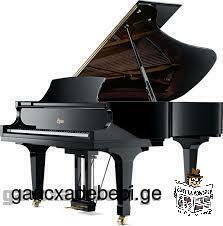 შევასწავლი ფორტეპიანოზე დაკვრას /piano lessons