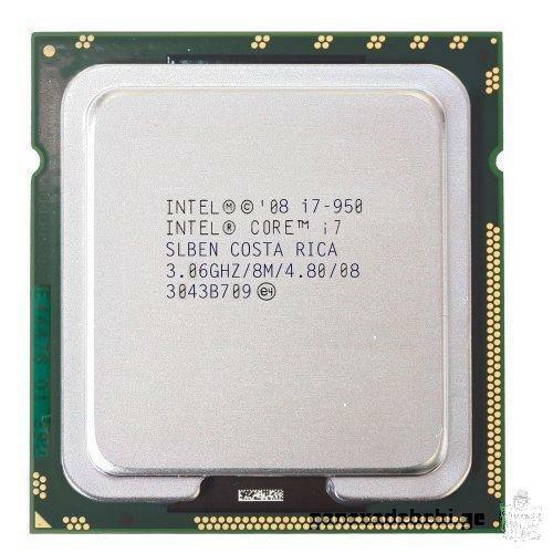 Intel® Core™ i7-950 Processor (8M Cache, 3.06 GHz, 4.80 GT/s Intel® QPI)