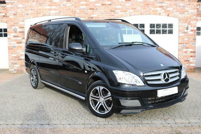 Mercedes-Vito- ის სამგზავრო მიმოსვლა