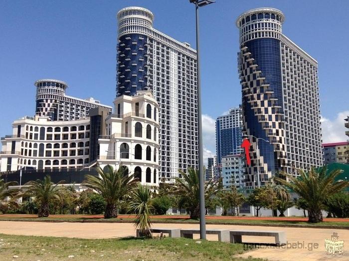 sea towers panorama
