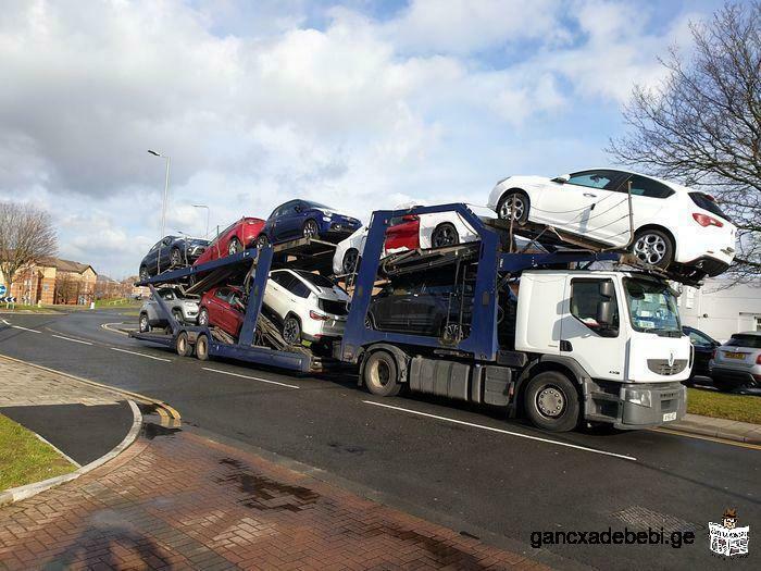 Британская транспортная компания предлагает услуги по общим перевозкам