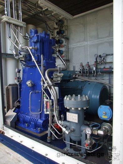 Продается компрессор высокого давления для АГНКС