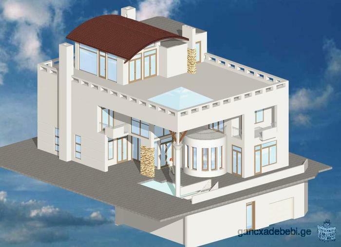 Продается трехэтажный частный дом в Ваке