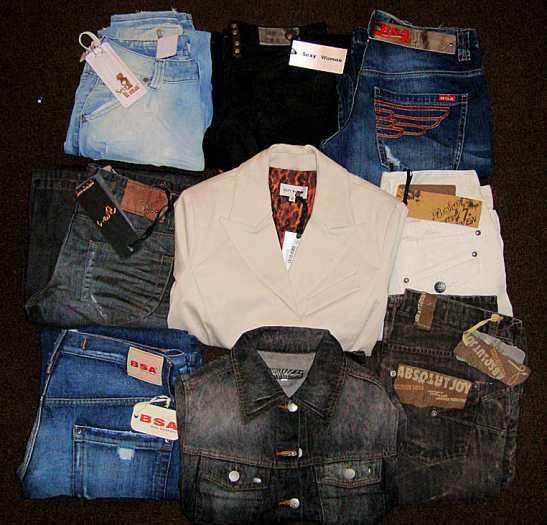 Продаются стоки женской и мужской одежды в Германии.