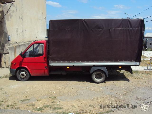 Работа на автомобиле Ford Transit 2 метров до 4 метров в длину,Палатки.число:599=25-37-87