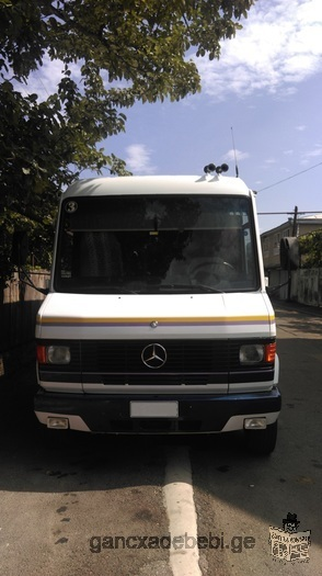 Сервис с микроавтобусом Мерседес