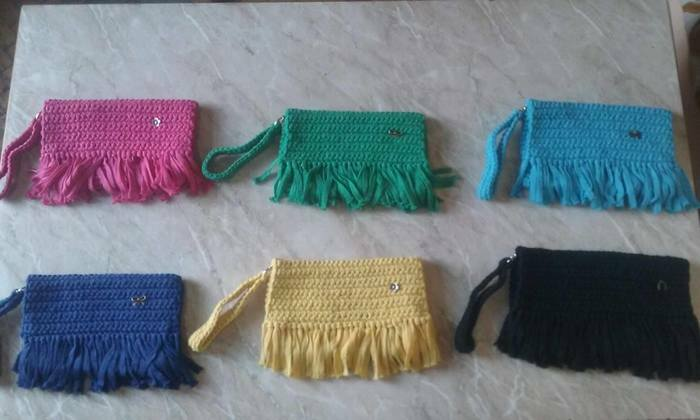 Современные и практичные виазанные сумки для молодых людеи