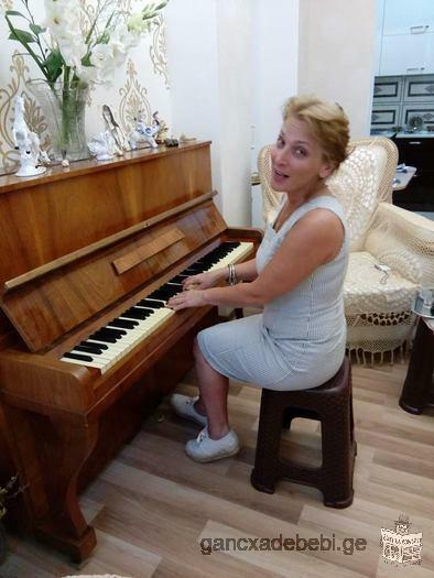 Учитель музыки русскоязычный